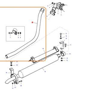 Egzoz Dirsek (L Boru) Massey Ferguson 135 – 240 Orjinal Kalitesinde OC160520180729