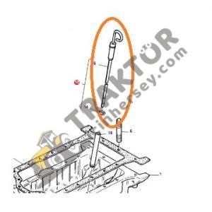 Karter Yağ Çubuğu – Yağ Seviye Çubuğu – Massey Ferguson 265 – 265S – 285 – 285S OC050820190810