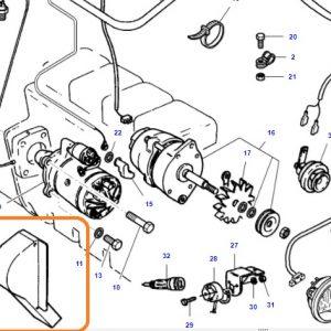 Alternatör Muhafaza Sacı Yeni Model Massey Ferguson 240 – 240S Ekonomi OC140520181909