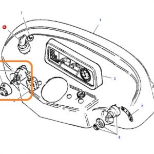 Kornalı Far Anahtarı Yeni Model Massey Ferguson 240 – 240S – 255EP – 3050 – 3060 Orjinal Muadili OC130520181722