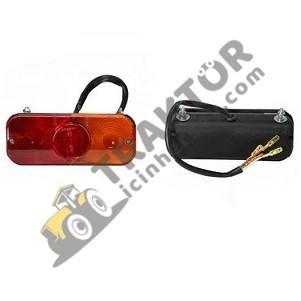 Arka Stop Lambası Sol Yeni Model Köşeli Massey Ferguson 3075 – 3085 Ekonomi TIH000001043