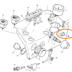 Sinyal Anahtarı Komple Massey Ferguson 240 – 240S – 265 – 265S – 285 – 285S Orjinal Muadili OC130520181829