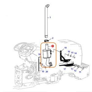 Egzoz Susturucu Tamburası Massey Ferguson 3050 – 3060 OC150520181503
