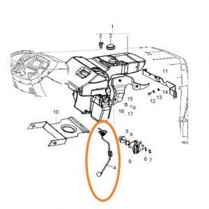 Mazot Depo Şamandırası 50LT Massey Ferguson 3050 – 3060 Minimax Modelleri İçin Orjinal Muadili OC180520181359