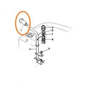Vites Topuzu Massey Ferguson 3060 – 3075 – 3085 Orjinal  OC250720181919
