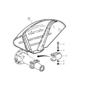 Çamurluk Delikli Yarım Tip Yeni Model Massey Ferguson 240 – 240S Sol Yerli İmalat OC14052018192513