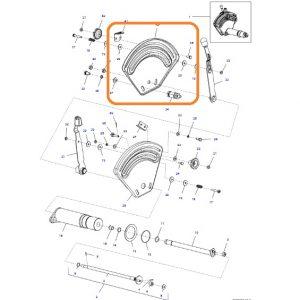 Hidrolik Kadran Sac Tablası Orta Massey Ferguson Tüm Modeller Orjinal Kalitesinde OC260820181641