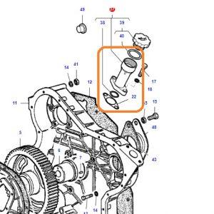 Yağ Doldurma Boğazı Kilitli Massey Ferguson 240 – 240S Orjinal Muadili OC190720181851