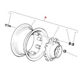Arka Jant Komple 14X30 Massey Ferguson 165 – 285 – 285S Jantsa OC120520180409