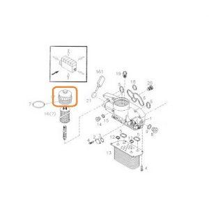 Yağ Filtre Başlığı Massey Ferguson 3075 – 3085 – 3095 – 3105 Orjinal OC030620181551