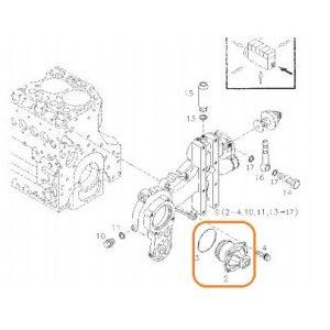 Devirdaim (Su Pompası) Komple Massey Ferguson 3075 – 3085 – 3095 – 3105 Orjinal Kalitesinde OC0806201819371