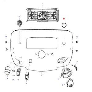 Korna Anahtarı Massey Ferguson Yeni Model 240 (Hindistan) – 240S (Hindistan) – 2615 – 2615GE – 2620 – 2620GE – 2630F – 2630GE – 2630 – 2635 Orjinal OC040720180343