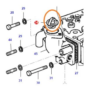 Termostat Massey Ferguson 240 Uzel – 240S Uzel Orjinal OC080720180704