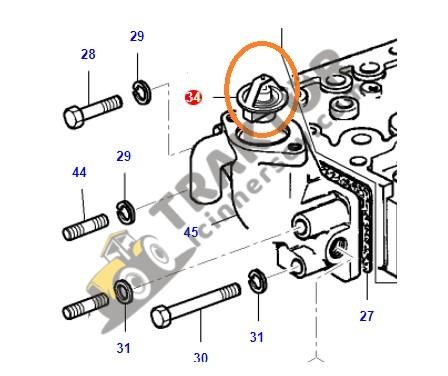 Termostat Massey Ferguson 240 – 240S Orjinal OC080720180704