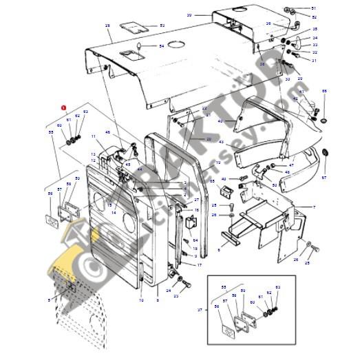 Ön Panjur Eski Model Massey Ferguson 240 – 240S Modelleri İçin Yerli İmalat OC07052018080411
