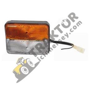 Ön Sinyal Lambası Yuvarlak Çamurluk Massey Ferguson 240 – 285 Yerli İmalat OC010520191421