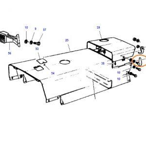 Kaput Mandalı Çengelli Komple Takım (Oval Yeni Tip) Massey Ferguson 240 – 240S – 255 Yerli İmalat OC130120190819