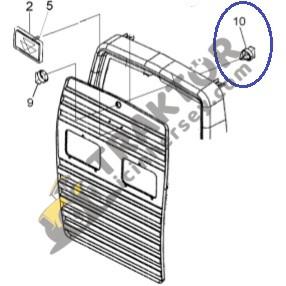 Massey Ferguson Ön Panjur Mandal Karşılığı Plastik 398 – 3050 – 3060 – 3075 – 3085 – 3095 – 3105 TIH000000274