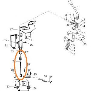 Mazot Pompa Teli Massey Ferguson 240 – 240S – 255EP – 277 – 288 – 3075 – 3085 – 3095 – 3105 Orjinal OC010620182034