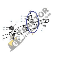 Massey Ferguson Egzoz Susturucu Kelepçesi Alttan Susturucu Modeller 135 – 240 – 240S – 255 TIH000000423