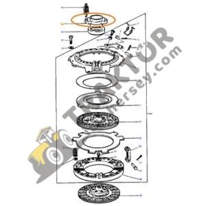 Debriyaj Rulman Yatağı Kalın Eski Model 183129M2 Massey Ferguson 135 – 165 – 175 – 185 – 188 TIH000001307