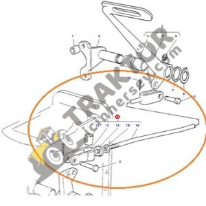 Debriyaj Pedal Çubuğu Komple Massey Ferguson 265 – 265S – 275 – 285 – 285S OC160820191553