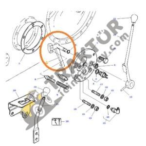Kuyruk Mili PTO Çatalı Massey Ferguson 135 – 240 – 240S – 265 – 265S – 275 – 285 – 285S Orjinal TIH000001343