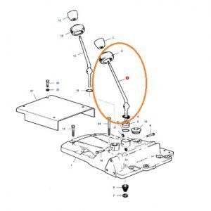 Vites Kolu Uzun 8 Vites Manual Massey Ferguson 265 – 275 – 285 Orjinal Muadili OC301120181937