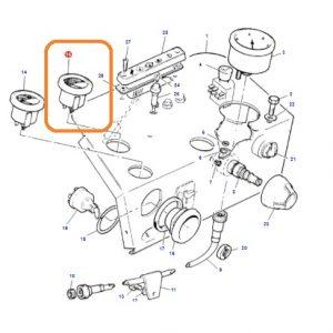 Hararet Saati Yeni Model Massey Ferguson 240 – 240S – 265 – 265S –  285 – 285S Orjinal OC180520181438