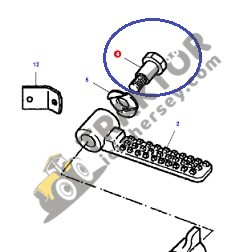 Diferansiyel Patinaj Pedal Setli Civata Massey Ferguson 135 – 165 – 175 – 240 – 240S Orjinal Muadili TIH000000649