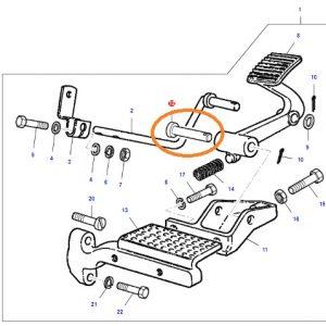 Ayak Gaz Pedal Pimi Massey Ferguson 135 – 240 – 240S OC220720181552