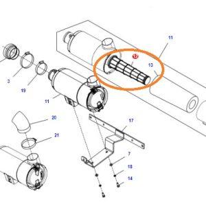 Hava Filtresi İç Massey Ferguson 2620GE – 2625F – 2625GE – 2625 Orjinal OC140720180524