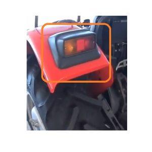 Arka Stop Lambası Plastik Koruyucu Massey Ferguson GE Modelleri İçin Orjinal OC030720181031
