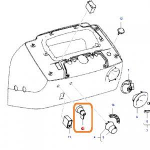 Sinyal Anahtarı Massey Ferguson 2615GE – 2615 – 2620 – 2620GE – 2620XTRA – 2625GE – 2630 – 2630F – 2630GE – 2635 Orjinal OC270520181444