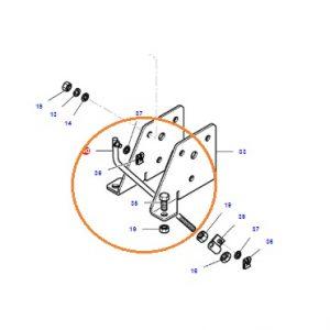 Hidrolik Kadran Kolu Ayar Çubuğu Massey Ferguson 240 – 240S – 265 – 265S – 266 – 285 – 285S – 288 – 398 Orjinal Muadili OC140420191847