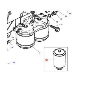Mazot Filtresi Massey Ferguson 6160, 6170, 6180 VE 6190 Modelleri İçin Orjinal OC270420181135