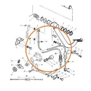 Debriyaj Pedal Teli Massey Ferguson 398 Orjinal Muadili OC150920181616