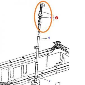 Karter Yağ Çubuğu – Yağ Seviye Çubuğu – Eski Model Massey Ferguson 165 – 175 Yerli İmalat OC050820190805