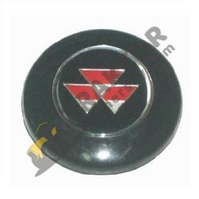 Massey Ferguson Direksiyon Göbek Arması Siyah 240 – 240S – 255 – 260 TIH000000312