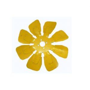 Vantilatör Kanadı Pervane 8li Saç Sarı Massey Ferguson 266 – 277 – 3050 – 3060 Orjinal Muadili OC091220181543