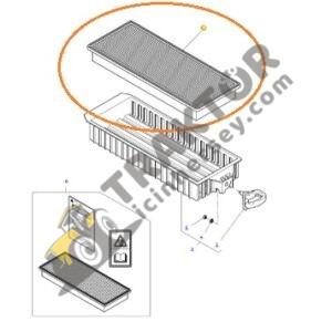 Kabin Klima Filtresi Massey Ferguson Orjinal Muadili TIH000001380
