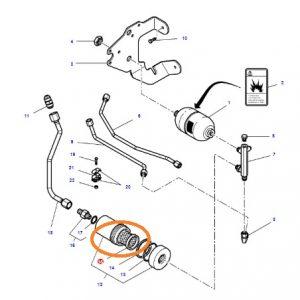 Hidrolik Direksiyon Şase Filtresi Kısa Massey Ferguson 5400 – 6400 Orjinal Muadili OC1507201809021