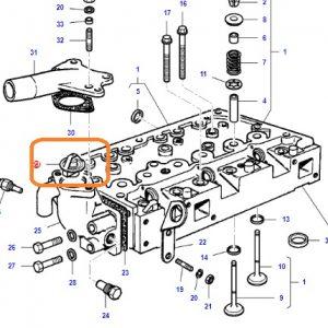 Termostat Massey Ferguson 240S (Hindistan) – 2615GE – 2615 Orjinal OC140720182014