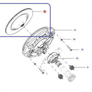 Debriyaj Balatası Massey Ferguson 240/240S Hindistan (Yeni Model) – 2615 – 2615GE Modelleri İçin 12inc Orjinal OC30042018230721