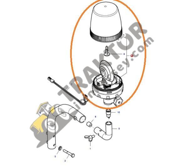 Tepe Lambası (Döner Lamba) Massey Ferguson Tüm Modeller Orjinal OC110720181912