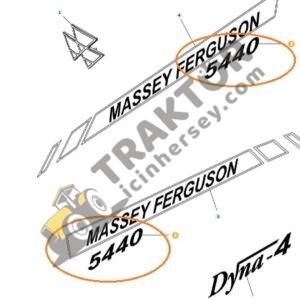 Yan Yazı Massey Ferguson 5440 Orjinal TIH000001256
