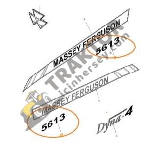 Yan Yazı Massey Ferguson 5613 Orjinal TIH000001257