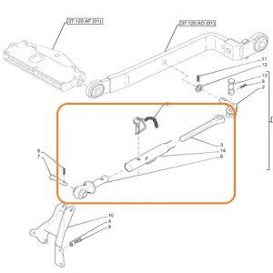 Komple Sınırlayıcı New Holland TD4.65B (2WD ve 4WD) – TD4.75B (2WD ve 4WD) – TD4.80B (2WD Ve 4WD) – TD4.90B (4WD) – TD4.65F (4WD) – TD4.75F (4WD) – TD4.85F (4WD) – TD75B (Yeni Model) – TD65B (Yeni Model) Orjinal Muadili OC010120191300