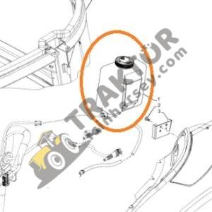 Silecek Suyu Deposu Tek Motorlu New Holland TT50 – TR5115 – T5115 – T5105 – T5.95 – TT75 – TT50 – TT65C – T3.55 – TT55 – T4.55 – T4.85 – TD5.110 TIH000001185