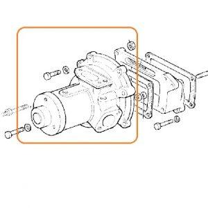 Su Devirdaim Komple, Orjinal Rulmanlı Fiat 55 46 – 80 66 Keba OC250820181052